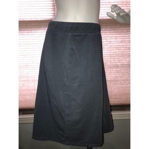 J. Crew A Line Cotton Skirt